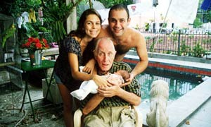 Ronnie Biggs in Brazil in 2000