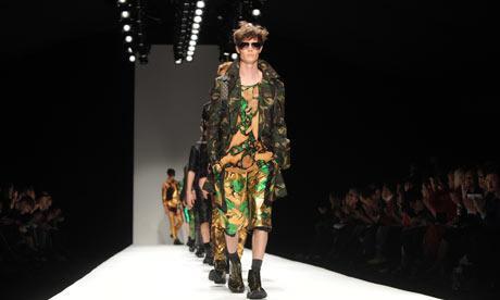 Menswear at London fashion week