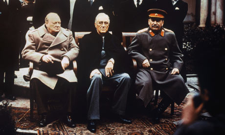 Leaders at Yalta Conference, 1945