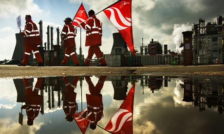 Strike at Grangemouth oil refinery