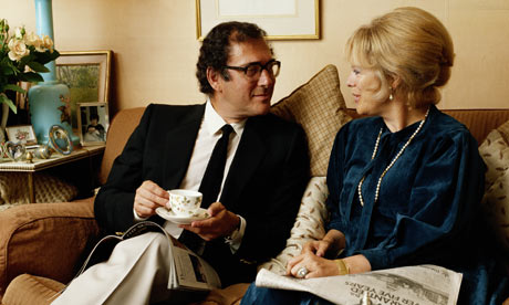 Harold Pinter and Lady Antonia Fraser