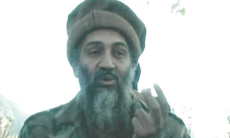 Osama in Laden. Osama Bin Laden Photograph: