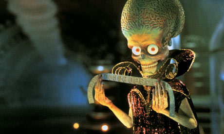 A Martian from Mars Attacks!