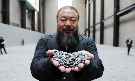 ai weiwei sunflower seeds turbine hall