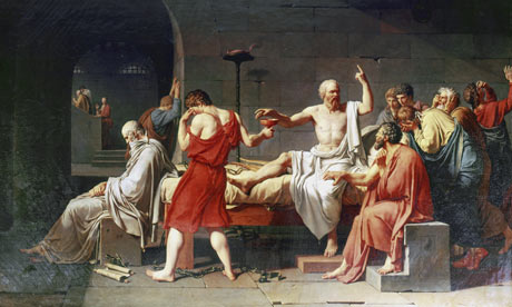 deaath of socrates Socrates' life story is part of a story told about philosophy itself it is a creation myth, of a sort and socrates' death, more even than his life, is central to this story and to the effect it has had on the subsequent millennia.
