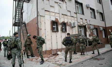 Chechen parliament attack