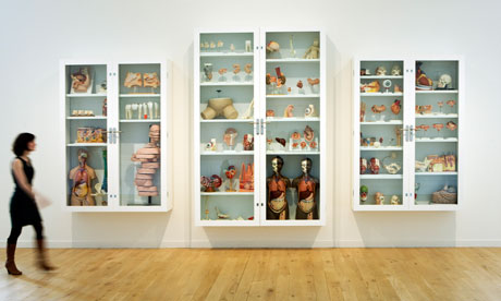 Damien Hirst's Trinity, part of Artist Rooms