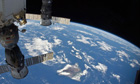 A world wide wave as the International Space Station soars overhead