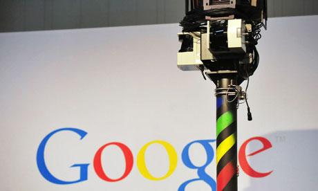 Google's Street View camera