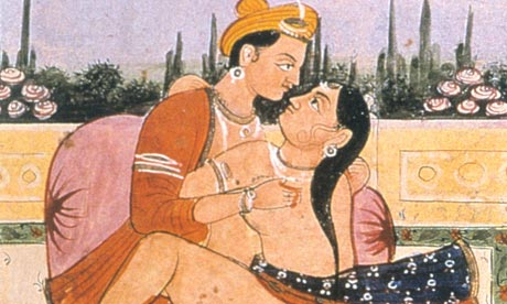 Kama Sutra painting. 'Some types of sex can be injurious if you don't warm ...