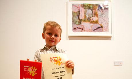 Butlins toddler art prize