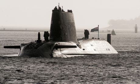a british nuclear submarine
