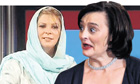 Lauren Booth and Cherie Blair