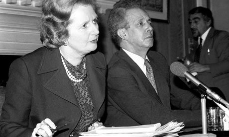 Politics - Margaret Thatcher and Keith Joseph - 1980