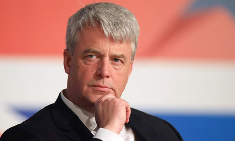 Health secretary Andrew Lansley during his NHS reform speech