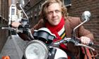 dan edelstyn on his motorbike