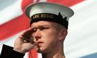 Royal Navy sailor