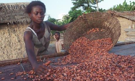 Fairtrade cocoa farmer in Ghana