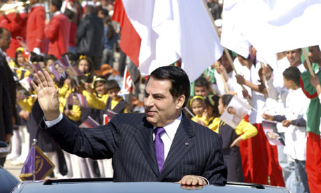 The Tunisian president, Zine al-Abidine Ben Ali, has said he will not seek re-election in 2014