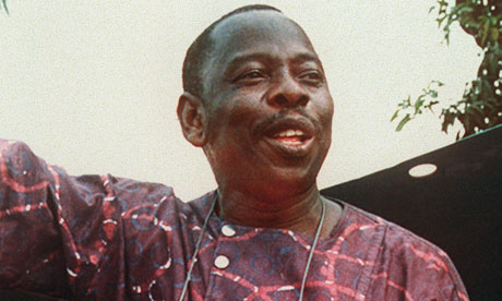 Nigerian writer and activist Ken Saro-Wiwa