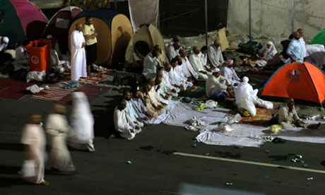 Pilgrims celebrate Hajj in Saudi Arabia 