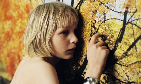 picture of Oskar from the film Let the Right One In