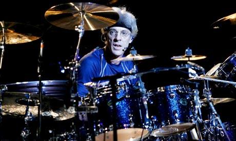 Drummer Stewart Copeland The Police Tour 2008