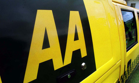 An AA van on patrol