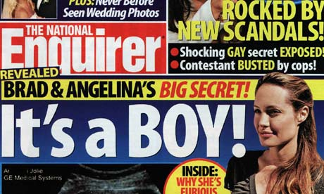 The National ENQUIRER . . . planning to file for bankruptcy ...