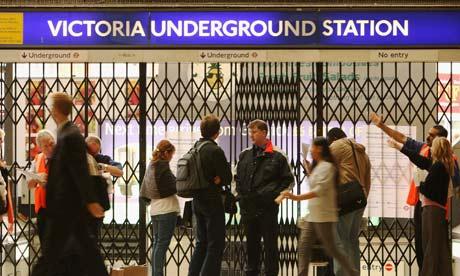 Tube Strike Causes Travel Chaos
