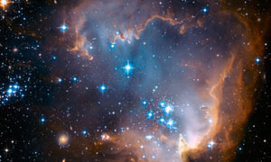 Star cluster in the Small Magellanic Cloud