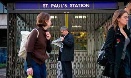 London Underground Signalling. London tube strike