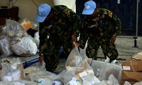 Haitia election UN soldiers Port-au-Prince