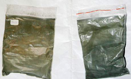 Two pouches of enriched uranium in Georgia