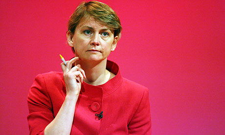 Yvette Cooper Castleford MP