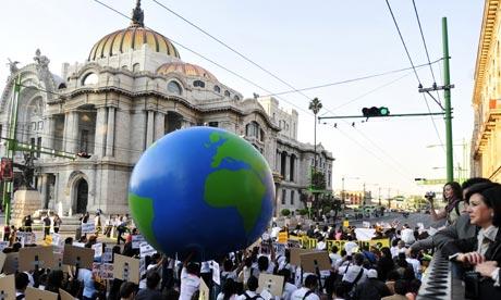 UN climate summit protests