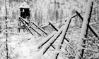 disused Stalinist convict camp, Siberia, Russia,