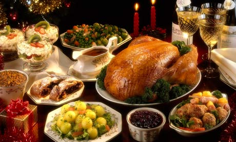 Food needed for christmas dinner