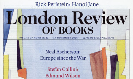 A copy of the London Review of Books