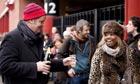 Eurostar queue, December 2010