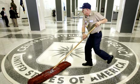 The CIA building in Langley Virginia