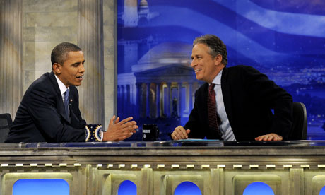 Barack Obama on the Daily Show, October 2010