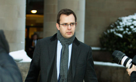 Andy Coulson at court for Sheridan trial