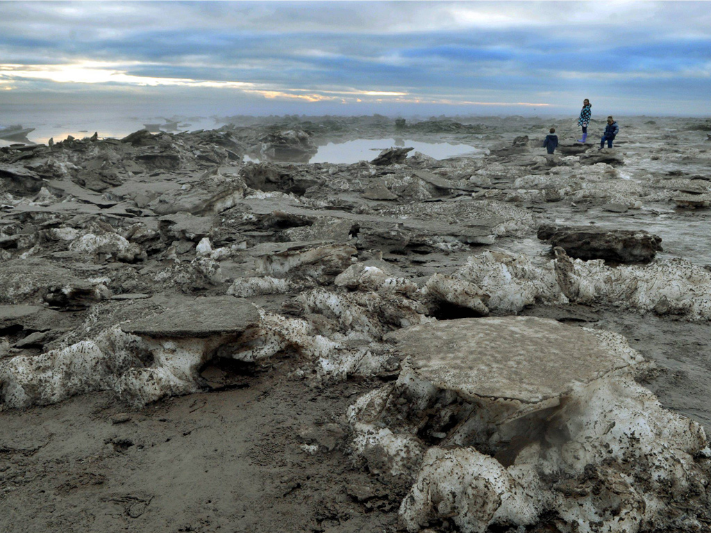 Eyewitness: Go with the floe