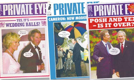 Private Eye proves the old jokes are the best | Media | The Guardian