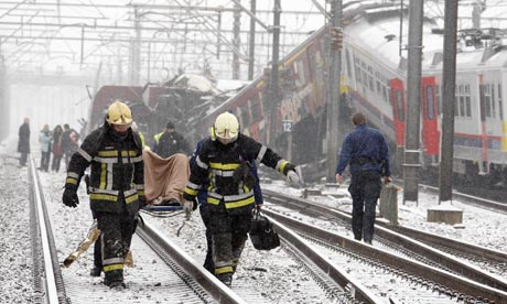 train crash Halle