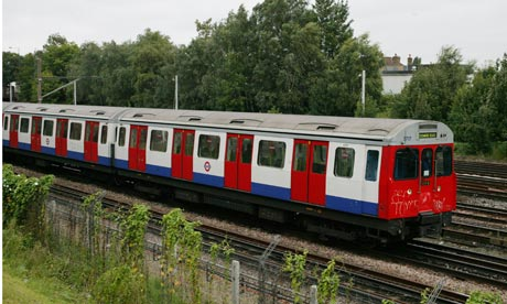 London Underground train