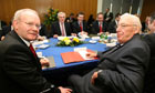 Martin McGuinness and the Rev Ian Paisley