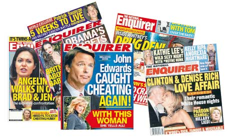 National Enquirer Headlines The National Enquirer Public