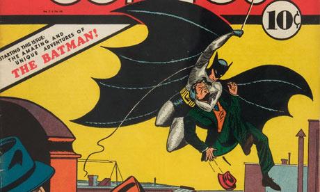 Copy of Detective Comics #27 featuring Batman